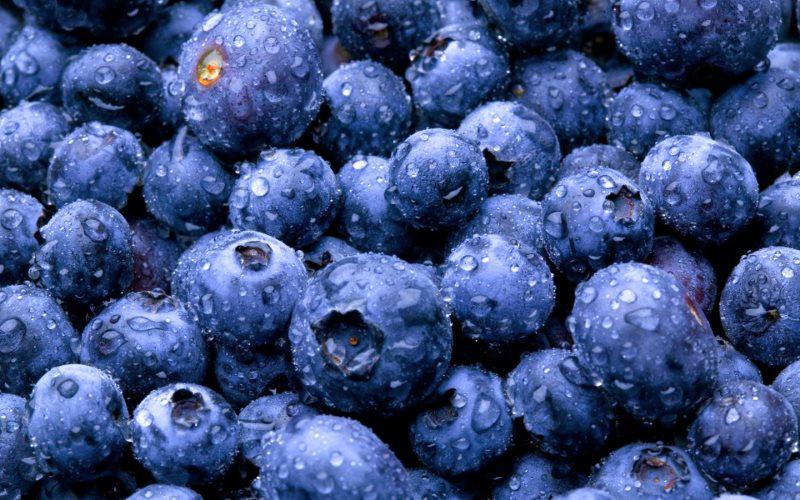 синие продукты