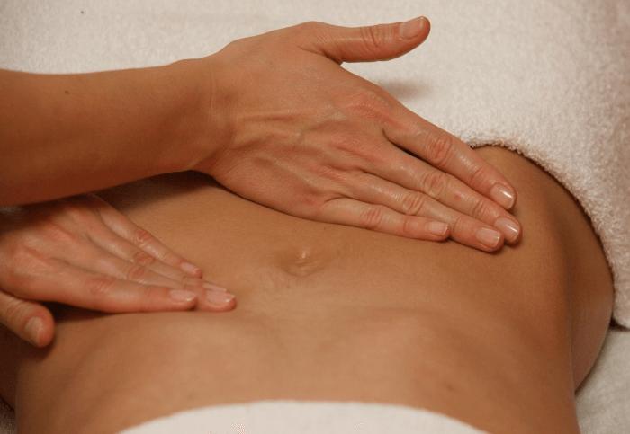 массаж для похудения талии