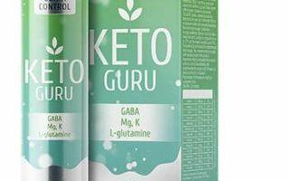 Keto Guru шипучие таблетки для похудения