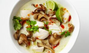 Тайский кокосовый суп