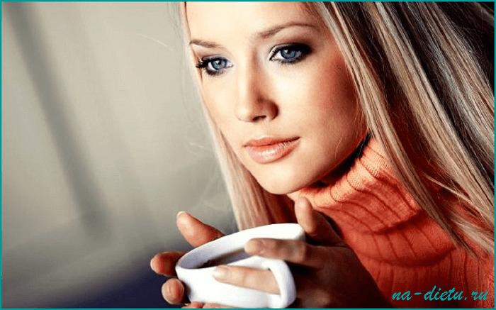 Иногда можно пить чай или кофе, но без сахара и сливок