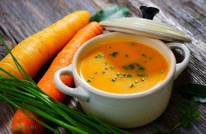 Морковно-имбирный суп для похудения
