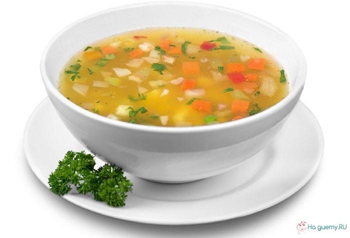 Овощной суп для диеты GM