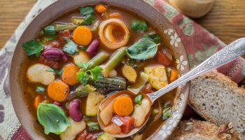 Овощной зимний суп