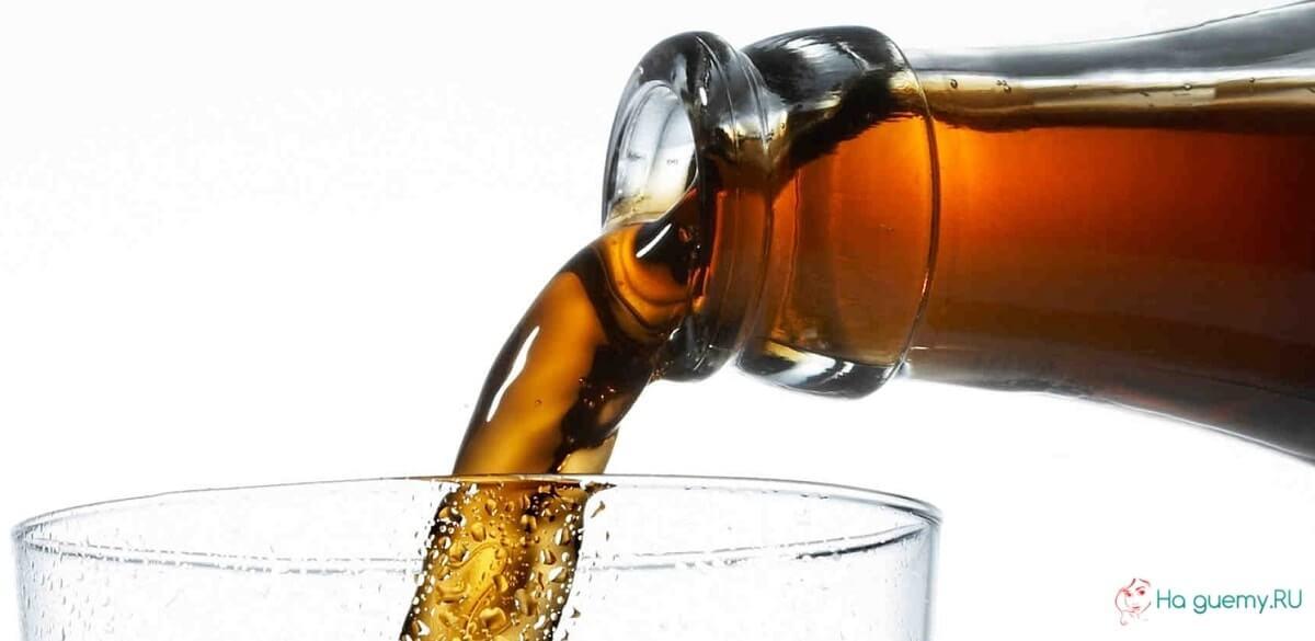 Во время курса нельзя пить газированные и подслащенные напитки