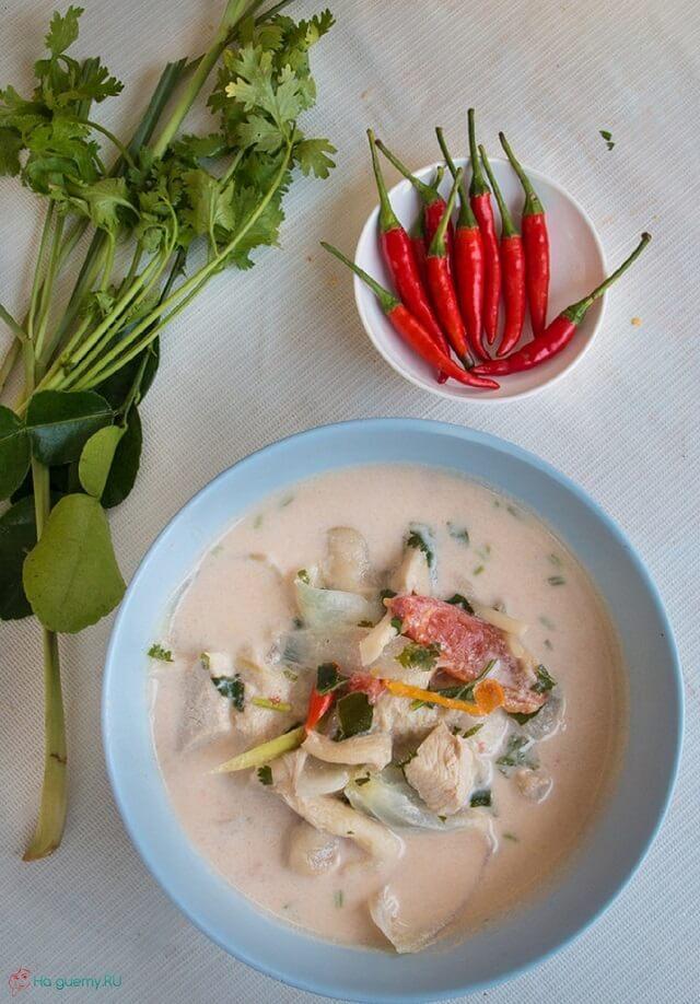 Суп Tom Kha Kai