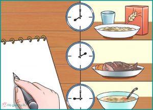 Записывайте все, что едите за неделю