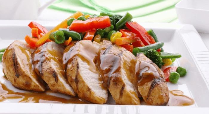 Блюдо из куриной грудки