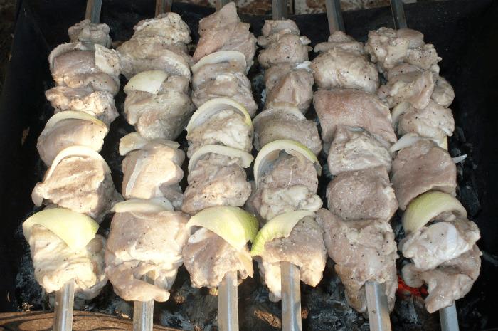 свинина в кефирном маринаде