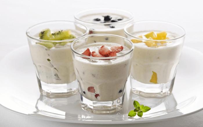 молочные фруктовые коктейли