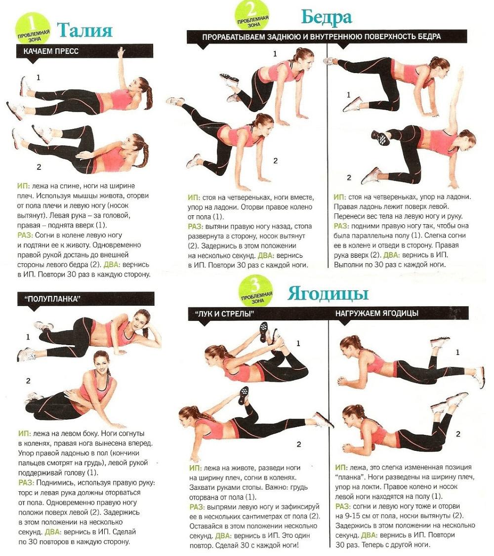 Упражнения Чтобы Сбросить Вес Дома. Семь лучших упражнений для похудения в домашних условиях